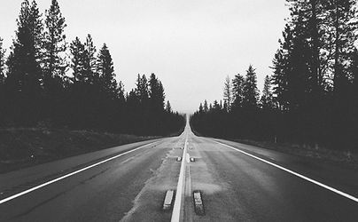 ロング空の道