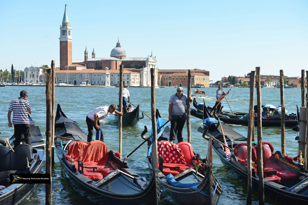 Gondoliers from St. Mark's Square