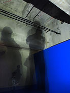 Shadows in the Tank rooms Tate Modern
