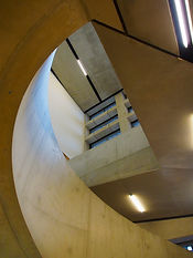Stairs in Tank rooms Tate Modern