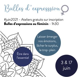 Ateliers découverte - Bulles d'expression au féminin