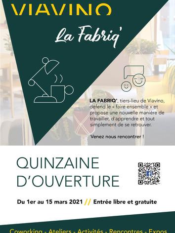 QUINZAINE D'OUVERTURE