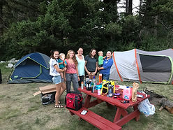 Tenting Camping at Boulder Creek Lodge Resort is Fun, Safe, Family Friendly, Creekside, with Bathrooms, Showers and Wifi Available.