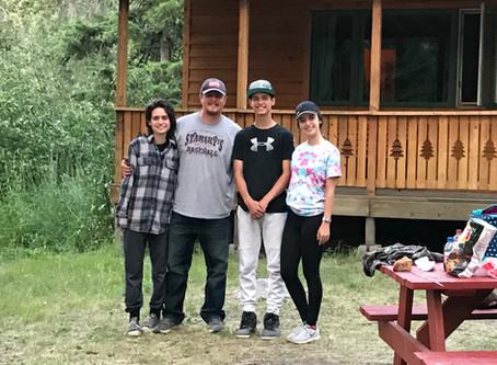 """Boulder Creek Lodge & RV Park is  """"The Happiest Place in Montana""""."""