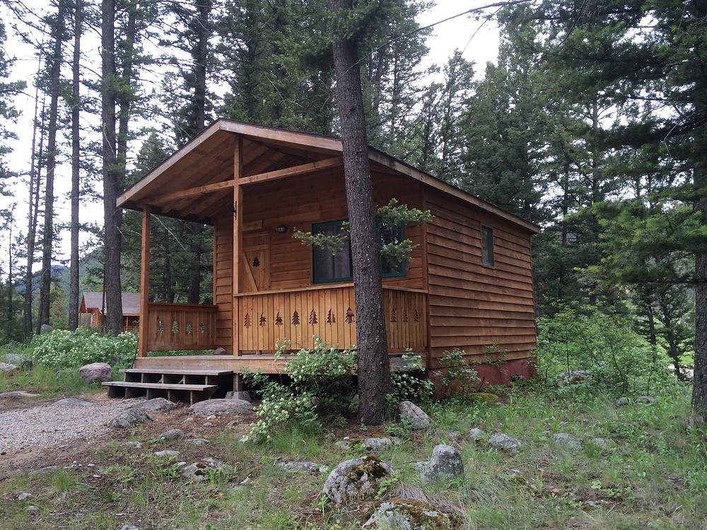 The Rancher Cabin at Boulder Creek Lodge Montana