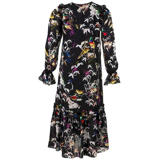Jedwabna sukienka -  Colibri