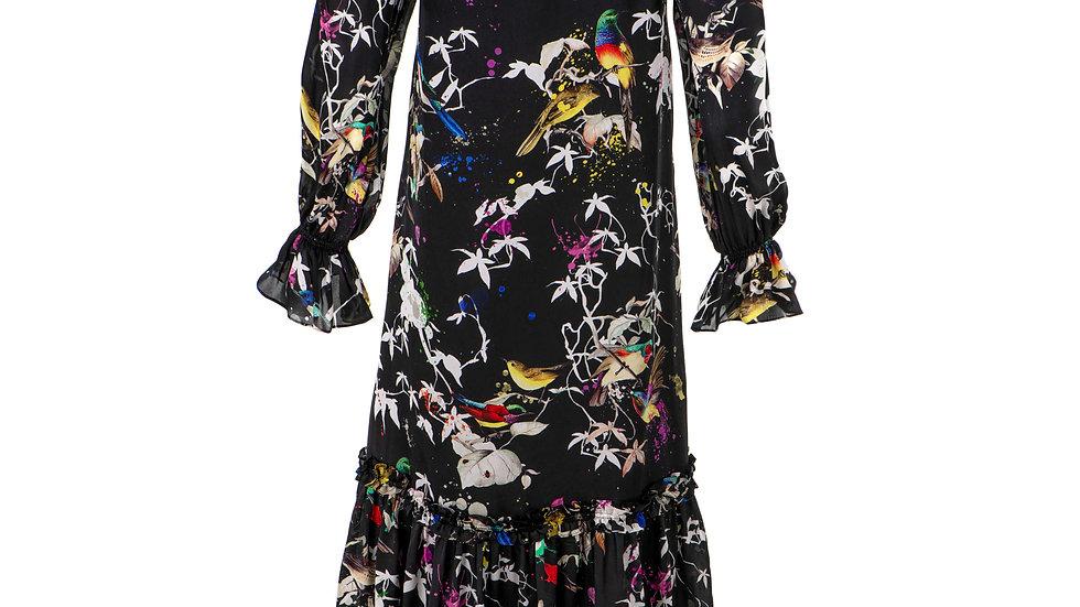 Sukienka jedwabna Colibri