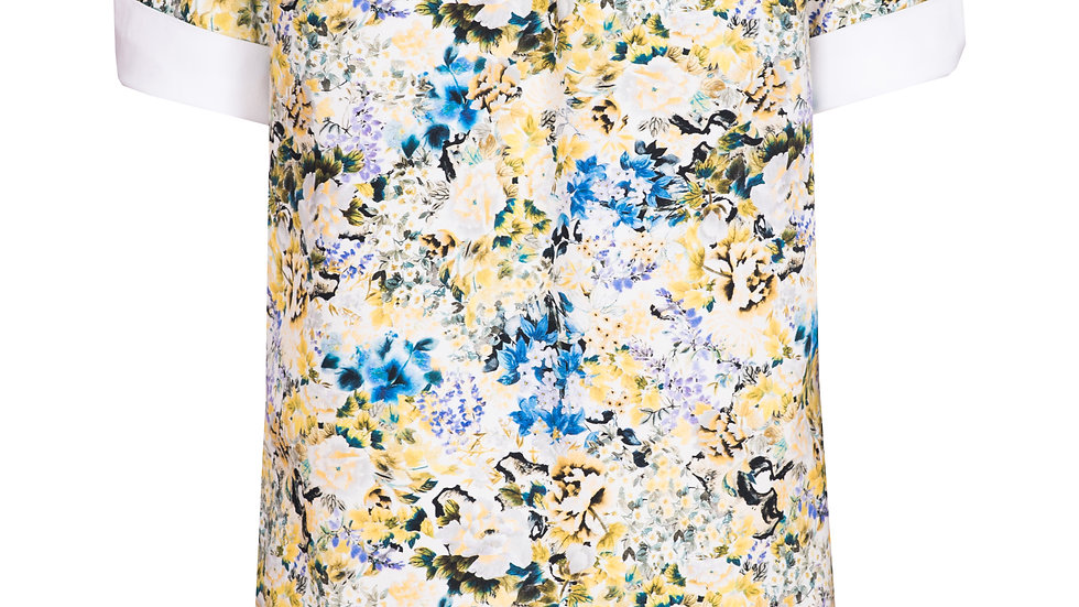 Suknia w zólte kwiaty Spello