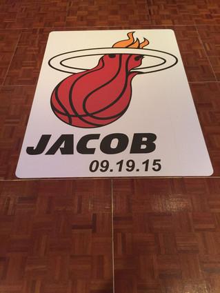 Jacob' Basketball Mitzvah