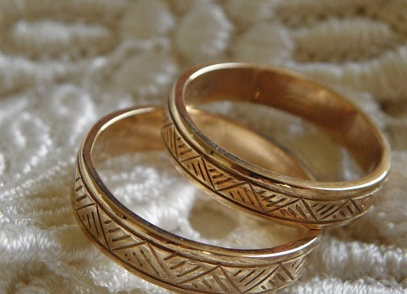 Tapa Wedding Bands