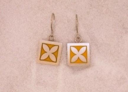 Single Frangipani Earrings