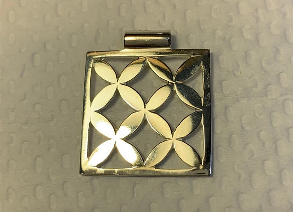 Repeating Frangipani Pendant