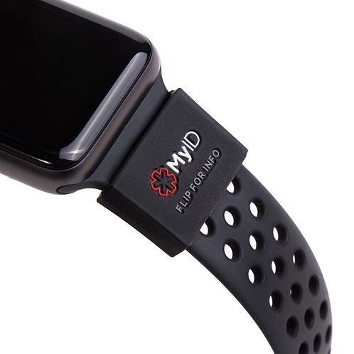 Medical ID Sleeve - Smart Watches & Activity Trackers