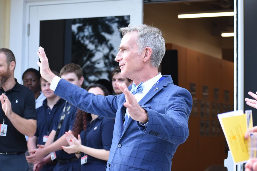 Bill Nye's Objective: Change the World