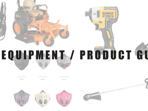 2017 EQUIPMENT / PRODUCT GUIDE