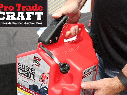 National Hardware Show Highlights: Spill-Proof Gas Can