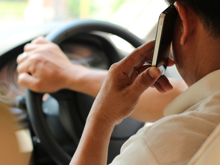 Are You Guilty of Driving Distracted?