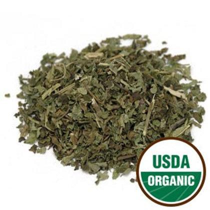 Lemon Balm Leaf Organic