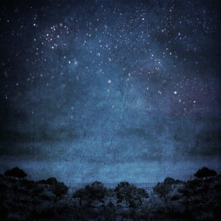 Big Blue Night Sky