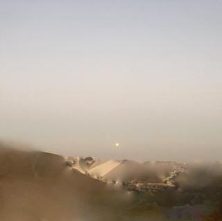 MOONRISE OVER THE DESERT 1957