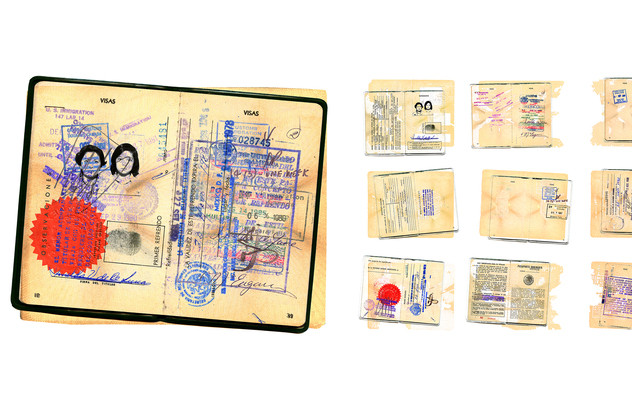 Palimpsest Pasaporte