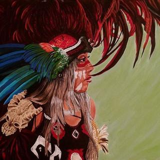 Cochtl cAhuatle (Parrot Woman)