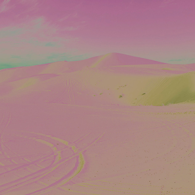 Pink Dream Dunes - Morocco