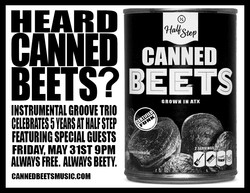 Canned Beets at Half Step Bar