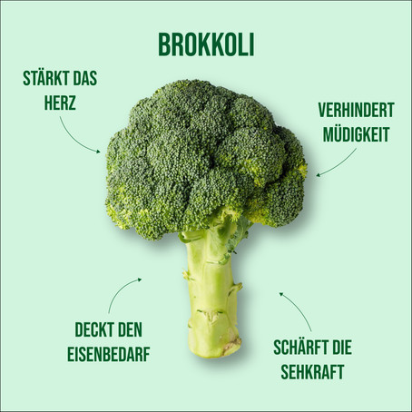 Brokkoli: Brokkoli-Nudel-Pfanne