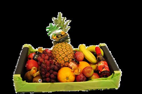 Obst-Präsent Kiste