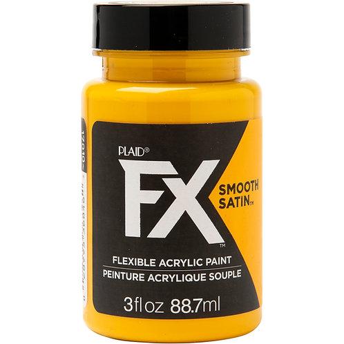 Plaid® FX™ Fools Gold - Satin Yellow