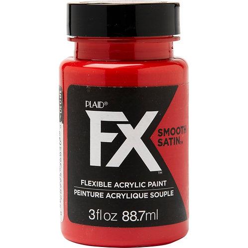 Plaid® FX™ Pyro - Satin Red