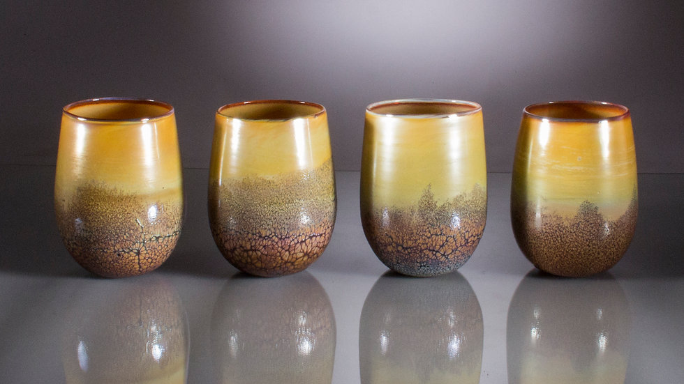 Stemless wine glass / sold individually