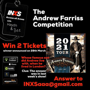 The Andrew Farriss  Competition!