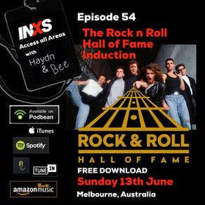 Episode 54 The Rock & Roll Hall of Fame Induction