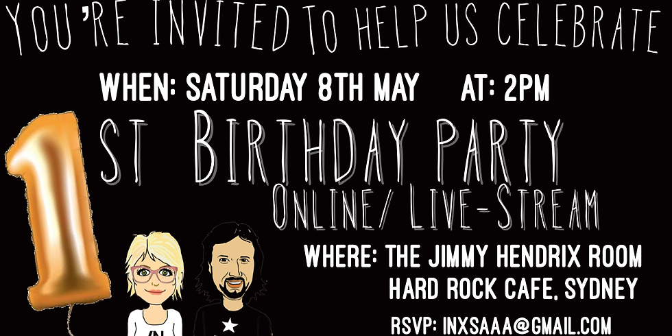 The Podcast's First Birthday - A Live Event!