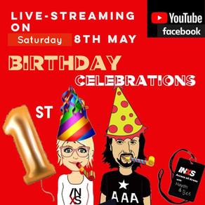 Ist Birthday Live Streamed