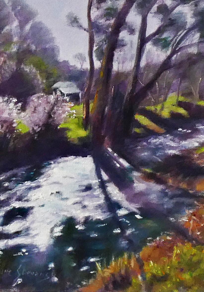 Winter Creek, Noble Falls