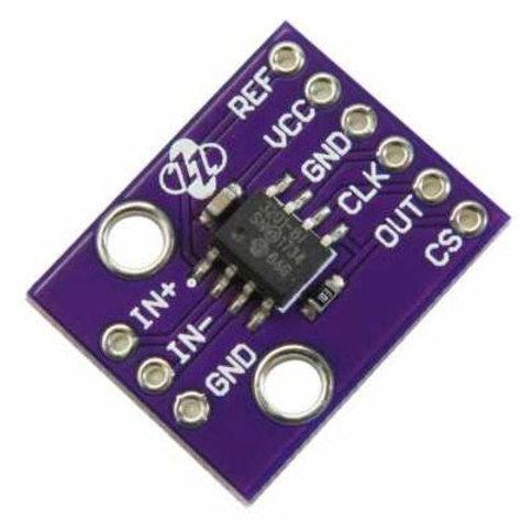 MCP 3201 ADC 12-bit Differential