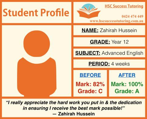 HSC Success Tutoring