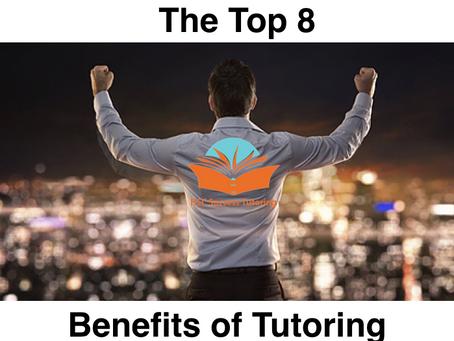 Top 8 Benefits of Tutoring