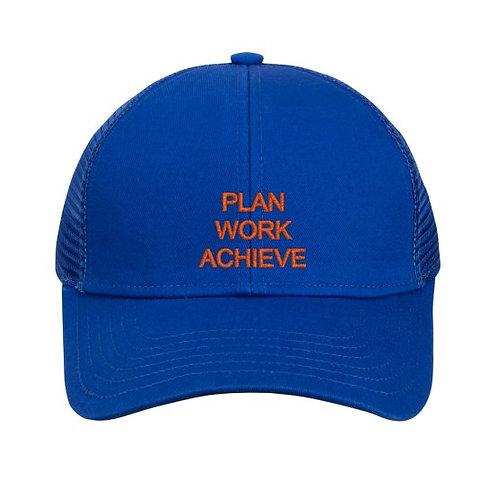Royal Blue Adjustable Mesh Cap
