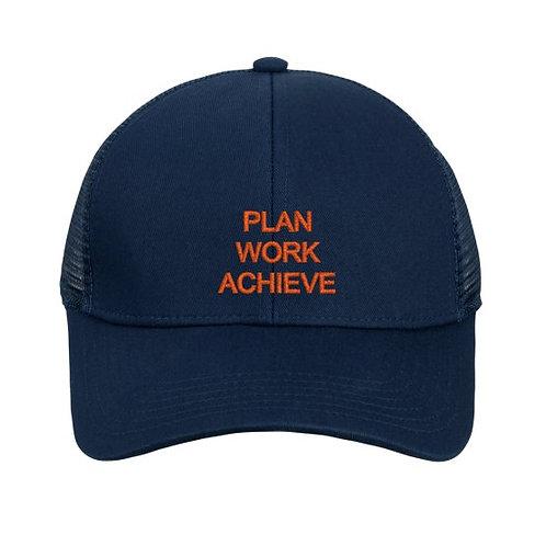 Navy Adjustable Mesh Cap