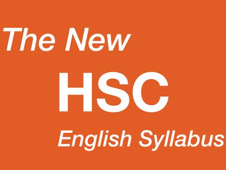 The New 2019 English Syllabus