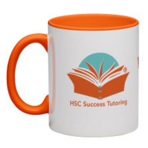 Orange Coffee Mug (325 ml)