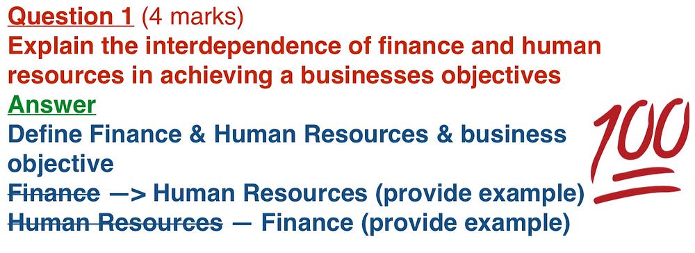 Year 12 Business Studies Tutoring
