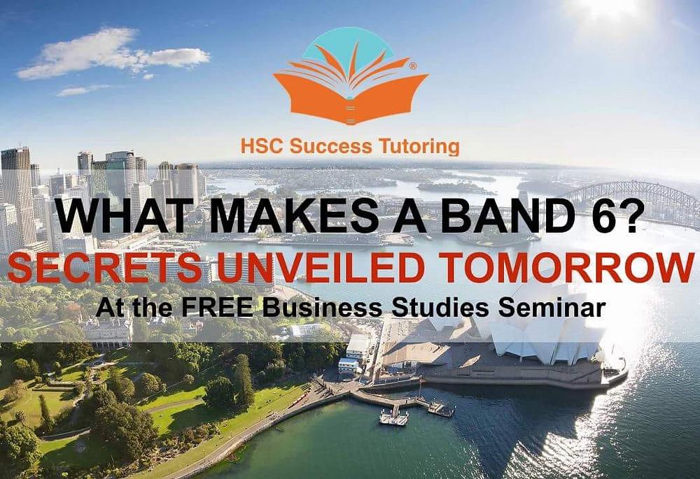 HSC Business Studies Tutoring