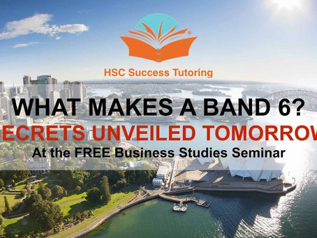 Business Studies: What makes a band 6?