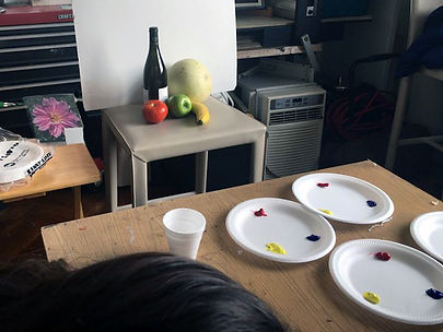 still life in art classes for children