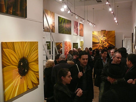 Oppening reception Leonard Tourne Gallery
